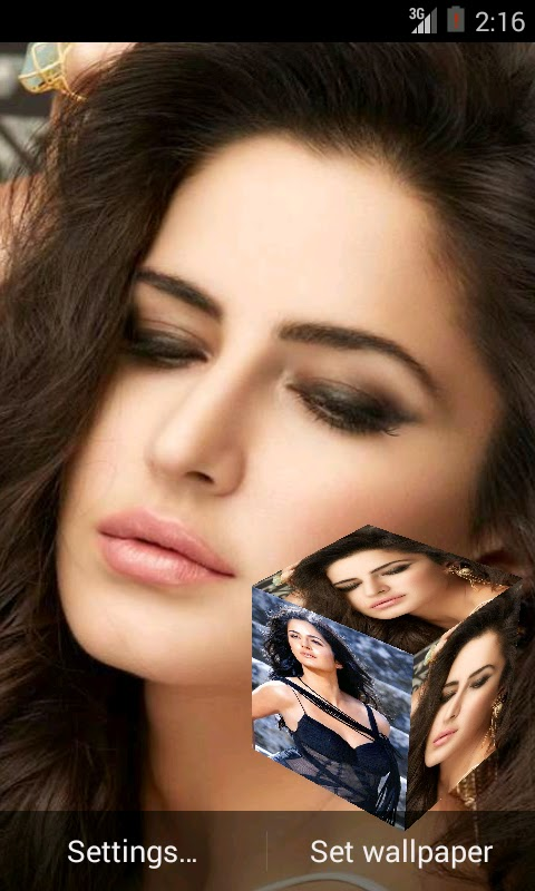 Katrina Kaif 3D live wallpaper For Android Mobile Phone