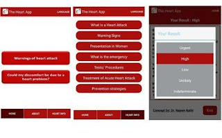 Techno-World: Prevent heart-attack with an App