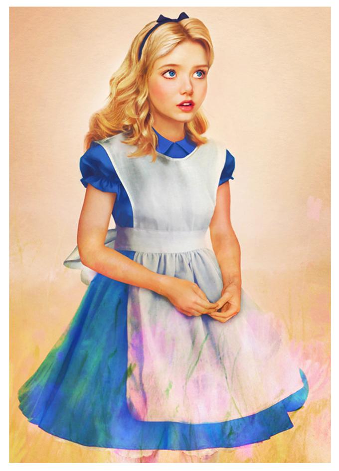 real life disney character Alice in Wonderland персонажи Дисней в реальной жизни Алиса в Стране Чудес