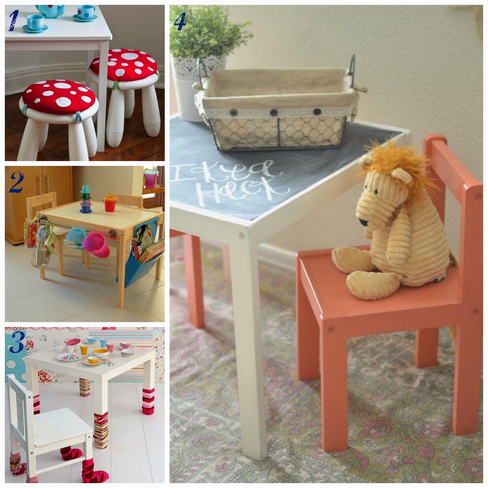 abbastanza Come rendere originali i tavolini di Ikea per bambini KR61