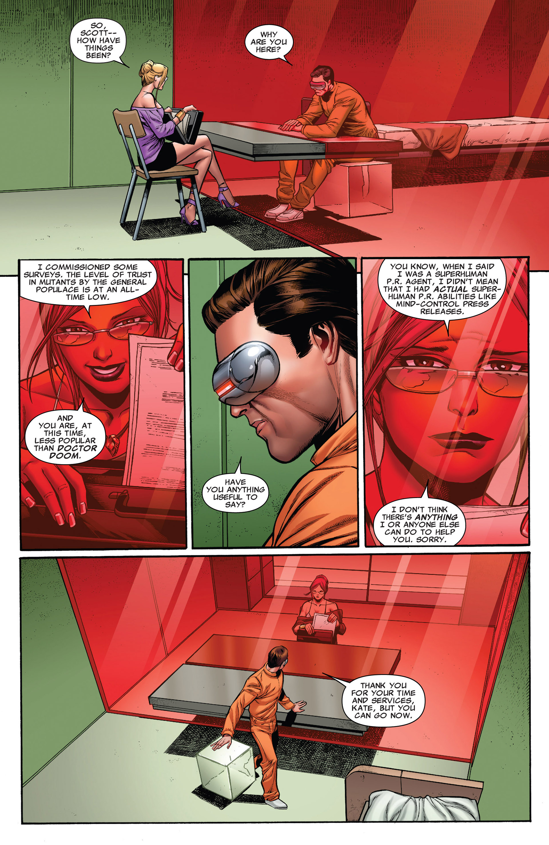 Read online Uncanny X-Men (2012) comic -  Issue #20 - 6
