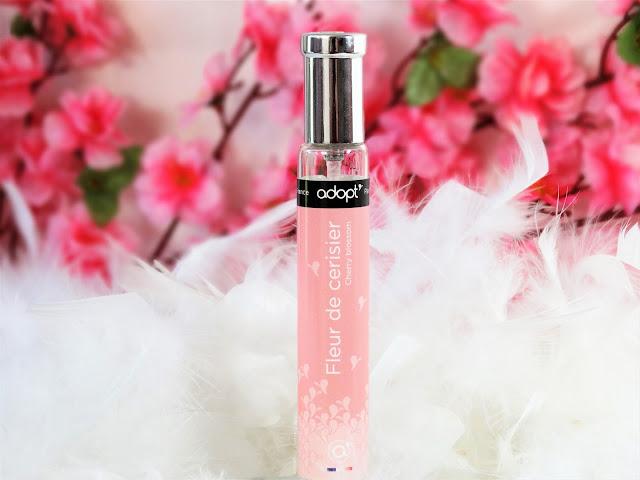 avis Fleur de Cerisier de Adopt', cherry blossom adopt', parfum fleur de cerisier, parfume été femme, parfum pas cher, blog parfum