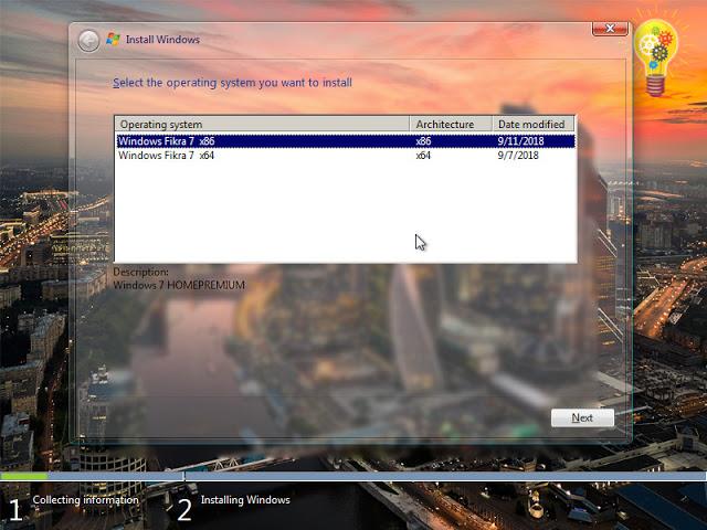 تحميل ويندوز سفن فكرة 2019 | Windows Fikra 7 V2 AIO