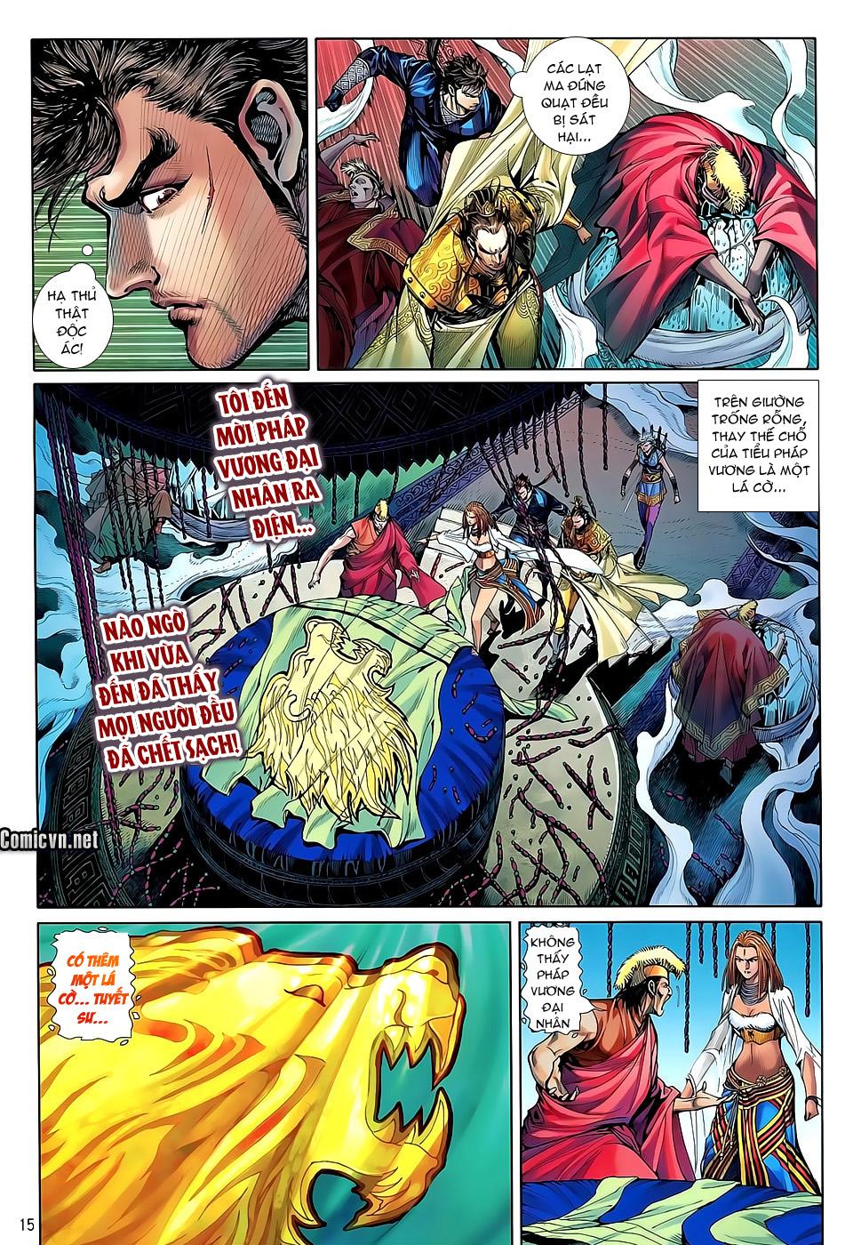 truyện tranh thiết tướng tung hoành Chapter 34/