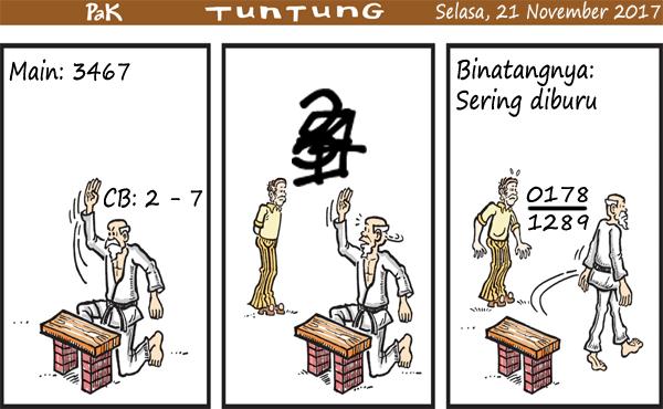 Prediksi Gambar Pak Tuntung Selasa 21 11 2017