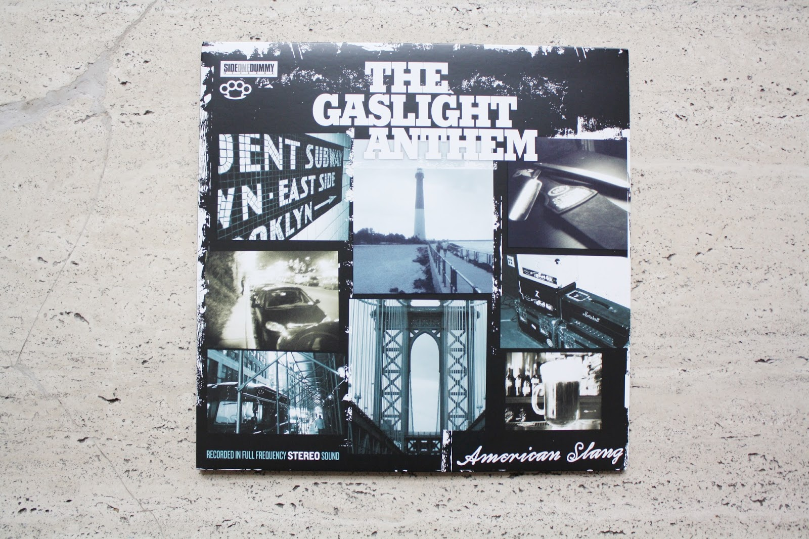 the gaslight anthem american slang vinyl
