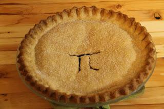 Blueberry pi pie