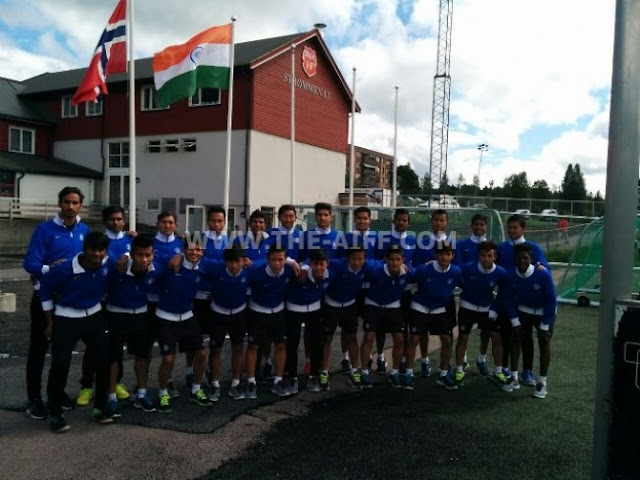 India U-17 World Cup squad exposure trip