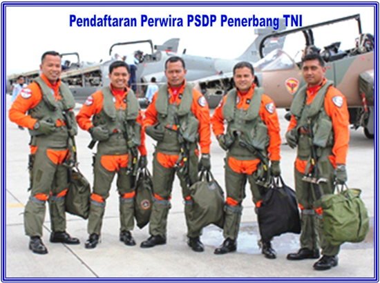 Perwira PSDP Penerbang TNI