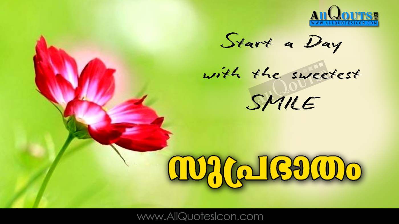 Good Morning Quotes And Greetings In Malayalam Hd Pictures Beatiful