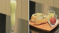 طريقة عمل سندوتش لحم مفروم بالجبنة و المشروم - سموذي برتقال مع شريف الحطيبي في سندوتش وحاجة ساقعة  12-1-2017