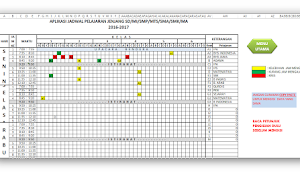Aplikasi Jadwal Pelajaran Otomatis Anti Bentrok 2016-2017