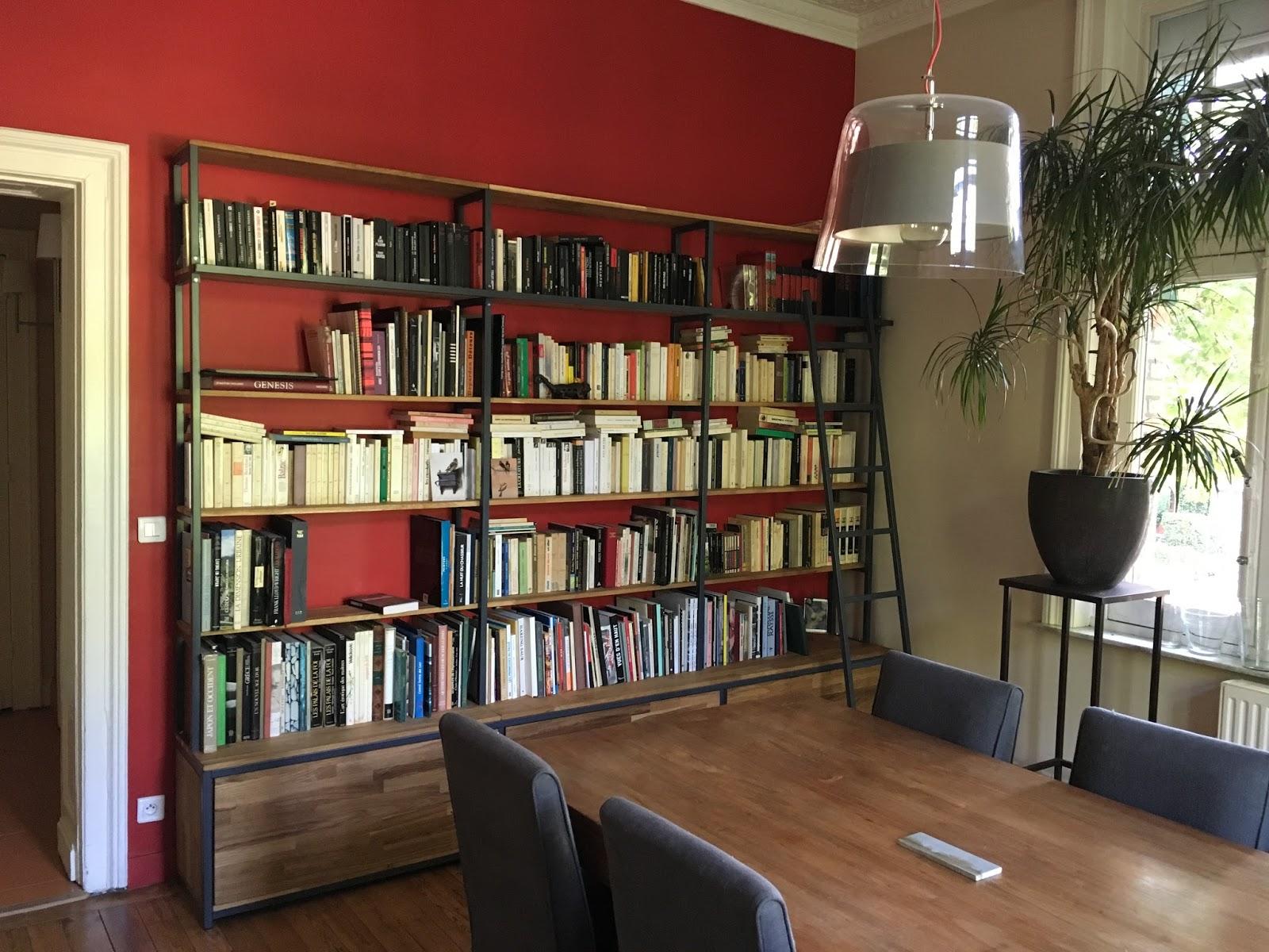 """Echelle Bibliotheque Sur Rail blog de la maison de l'imaginarium - l'ambiance """"factory"""