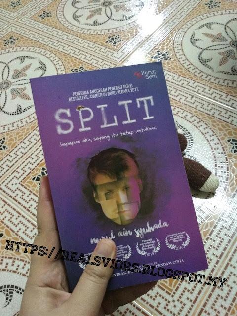 #BookRev - Split by Nurul Ain Syuhada
