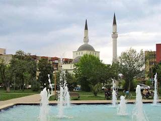 Mosque in Shkodra Albania