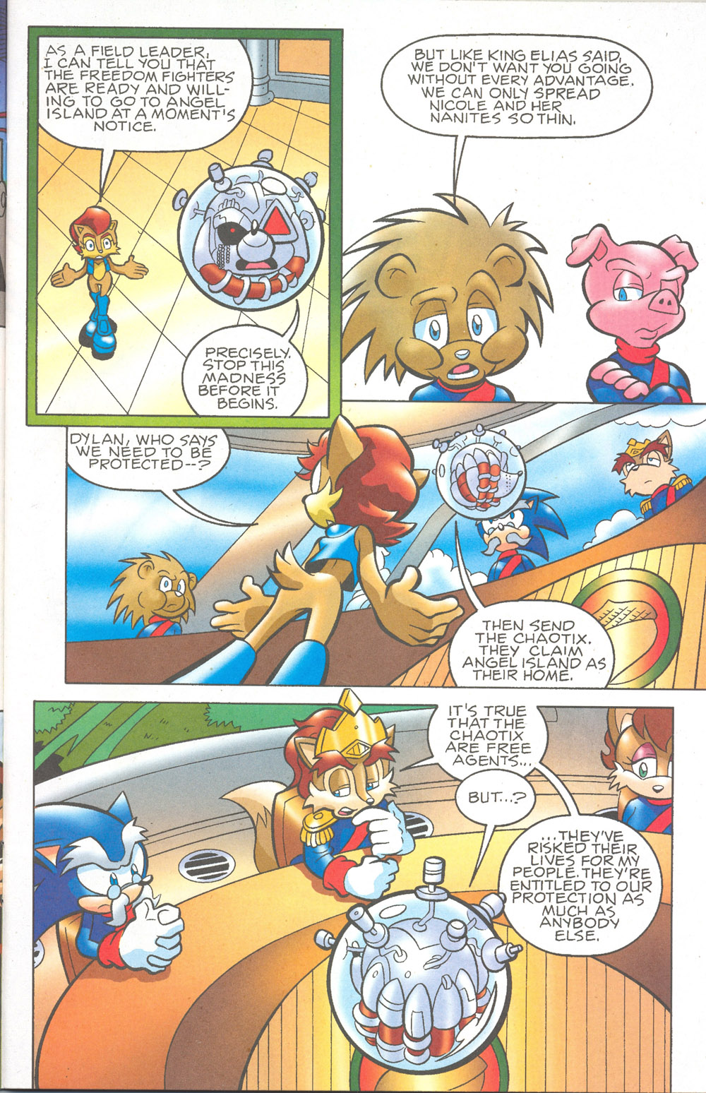 Read online Sonic The Hedgehog comic -  Issue #180 - 6