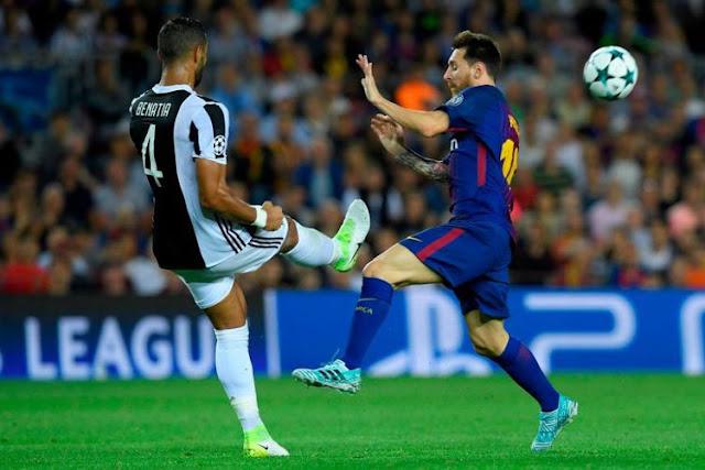 Hasil Liga Champions Grup D, Barcelona Menang Telak atas Juventus