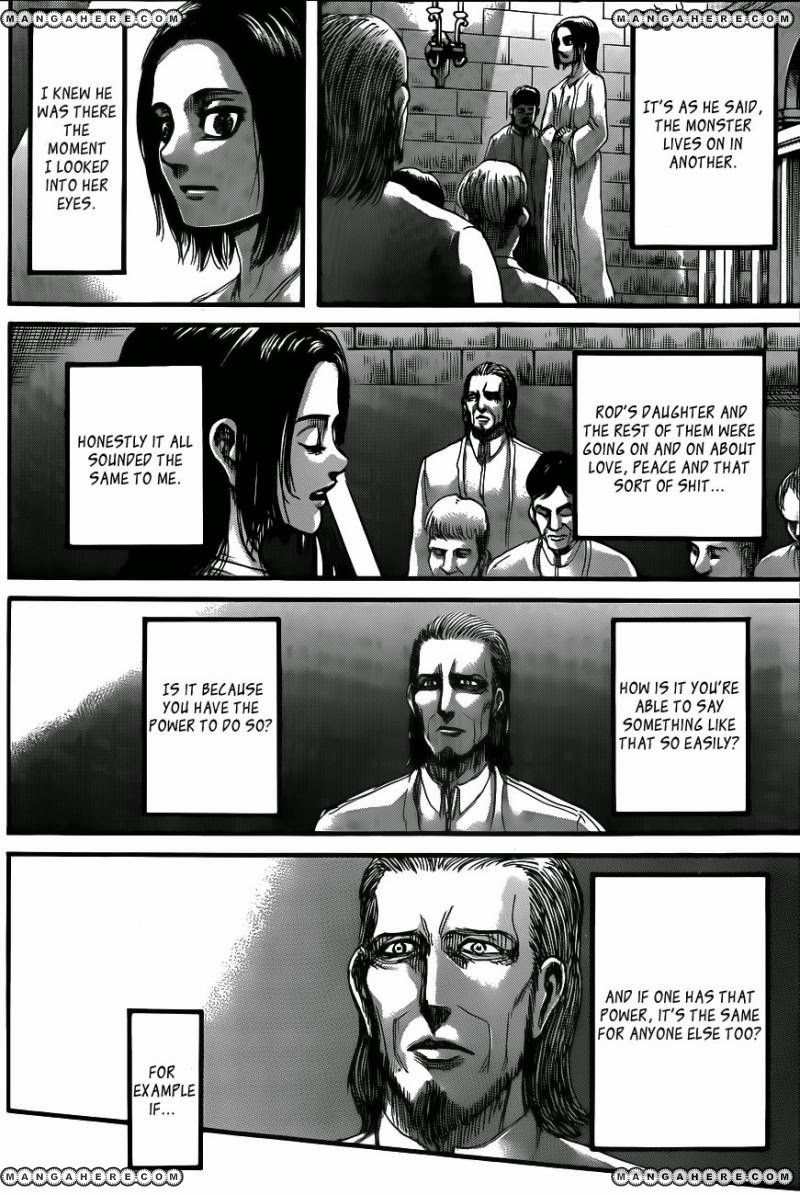Shingeki no Kyojin Ch 69: Friend