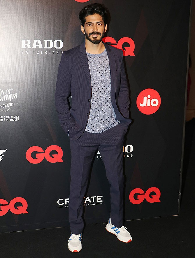 Harshvardhan Kapoor Shows off His Stylish Casual