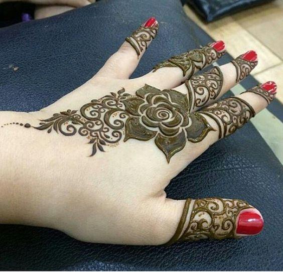 15 Stunning Flower Mehndi Designs For Eid Bling Sparkle