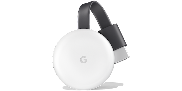 Google Chromecast (3rd Generation) - Chalk