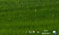 Rendere la barra desktop trasparente in Windows