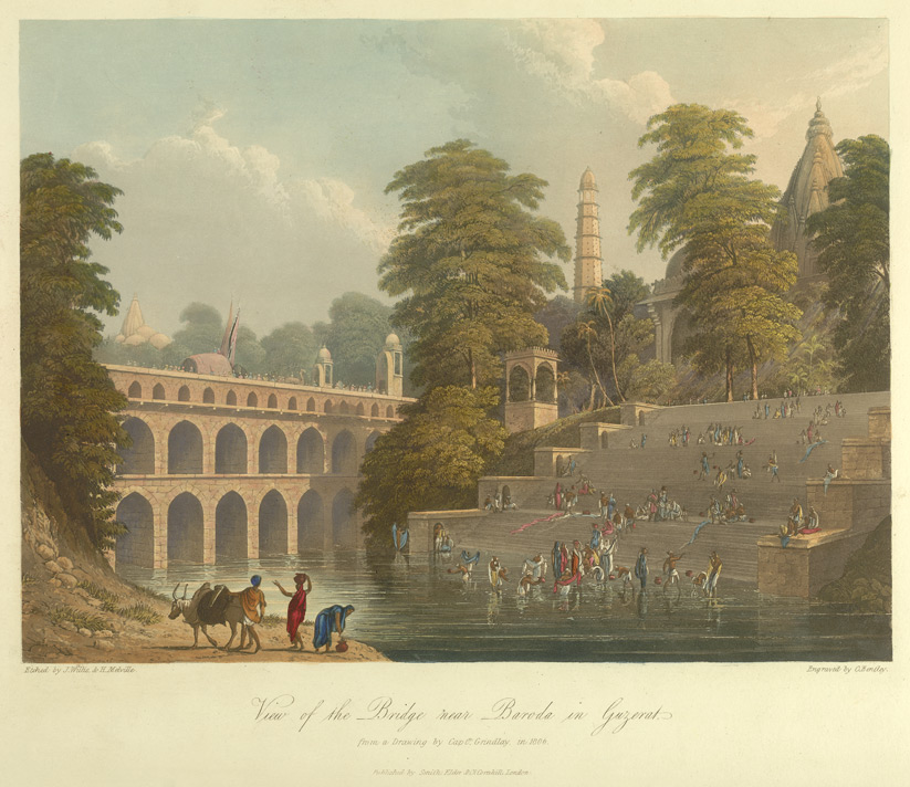 A View of Vishwamitri River (Year 1806)