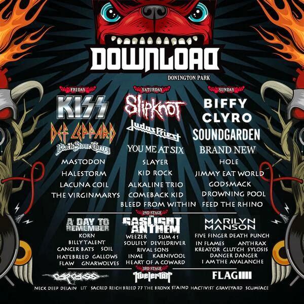 Kiss Will Close The 2015 Download Festival Motley Crue
