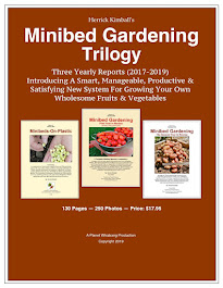 New in 2019! <br> The Minibed Gardening Trilogy