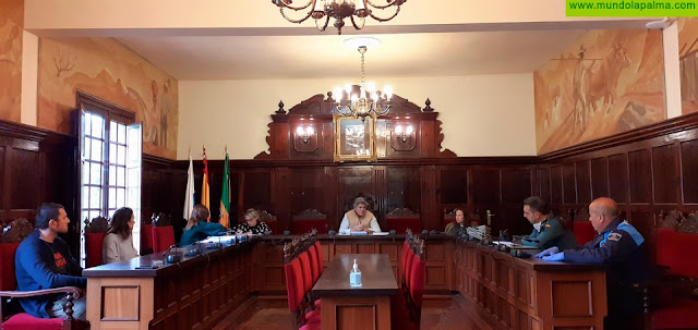 El Ayuntamiento de Los Llanos de Aridane reúne al comité de seguimiento para hacer frenar al coronavirus