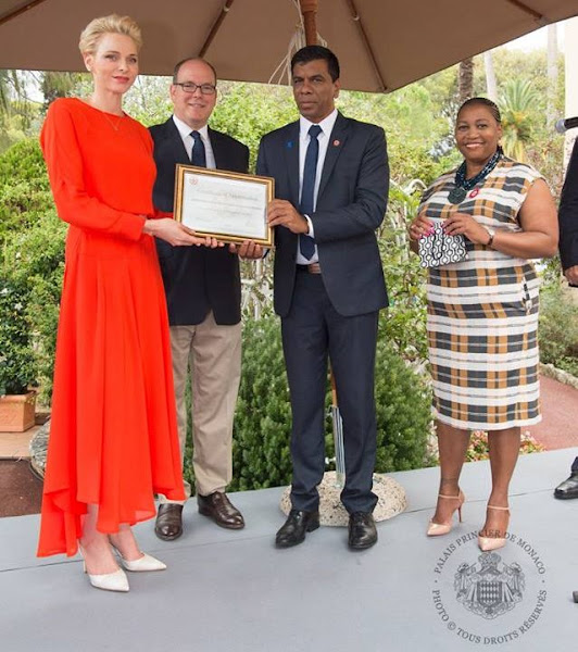 Leonardo DiCaprio Foundation Gala in Saint Tropez, 68th Monaco Red Cross Gala, South African Red Cross Society, Princess Charlene named godmother