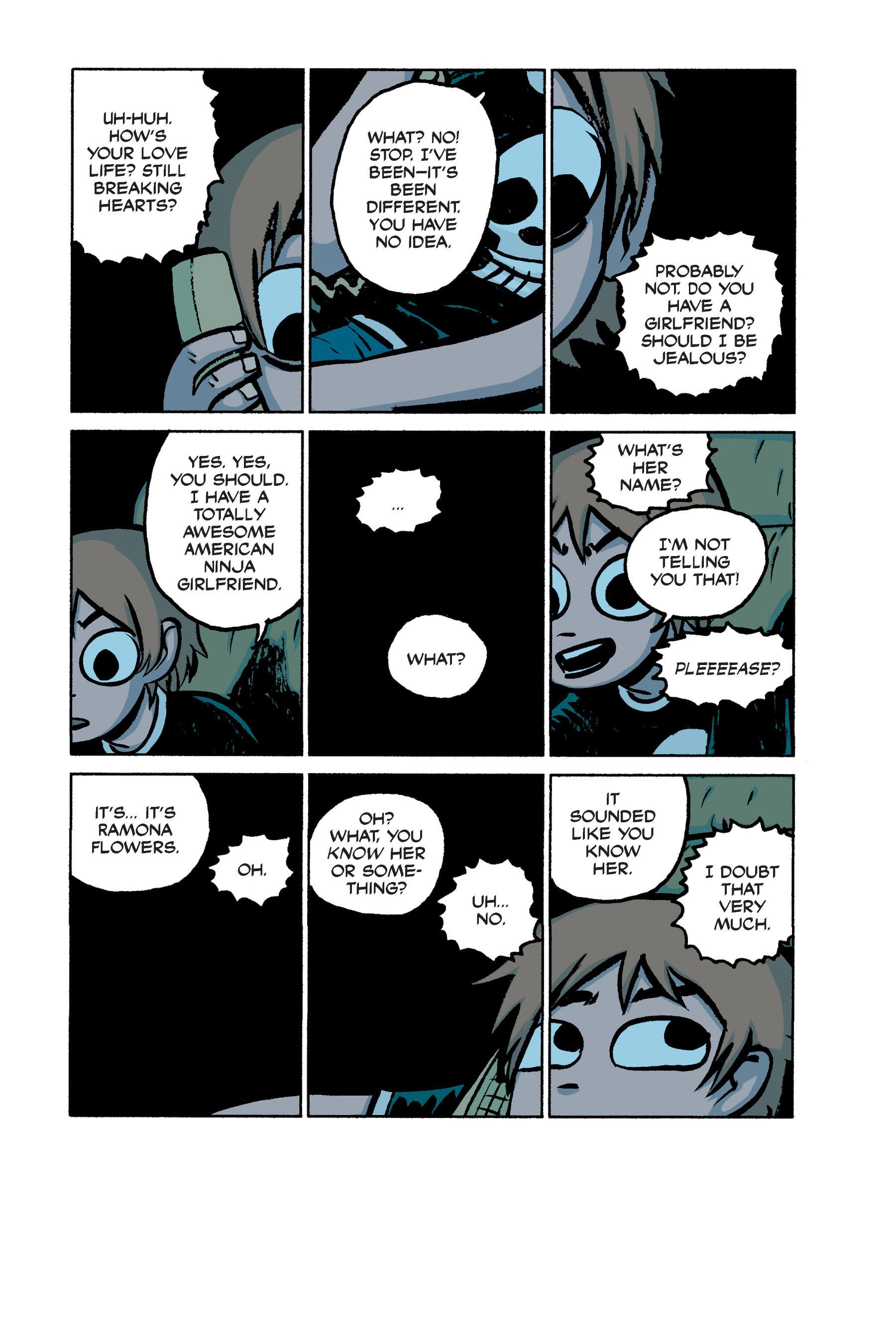 Read online Scott Pilgrim comic -  Issue #2 - 152