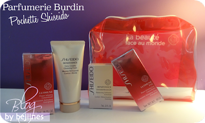 Pochette Shiseido Benefiance WrinkleResist 24