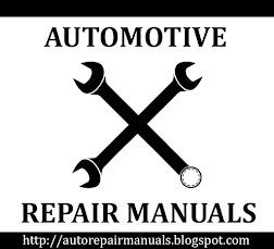 WORKSHOP REPAIR MANUALS