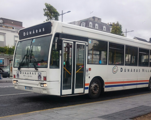 Dunaras student village shuttle bus vehicle