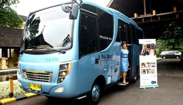 Sewa Big Bird Premium Bus Rp 4 juta sehari