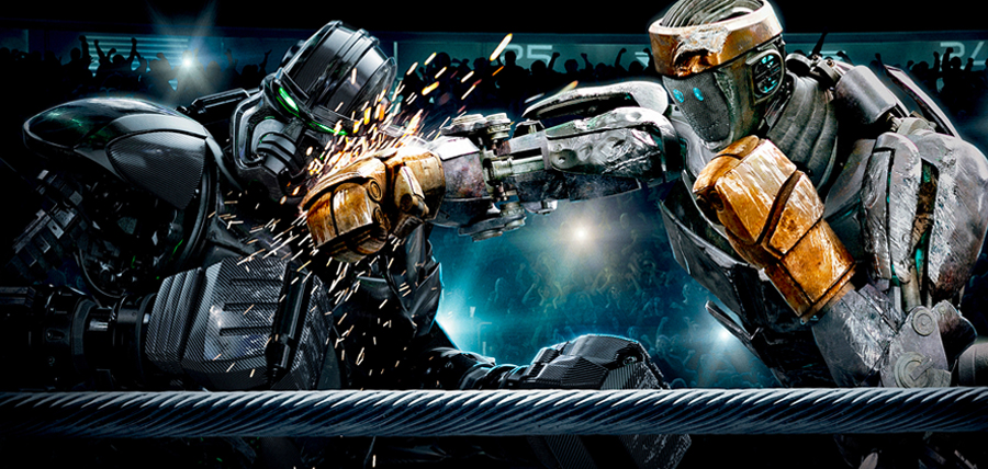 Real Steel : Atom vs. Zeus