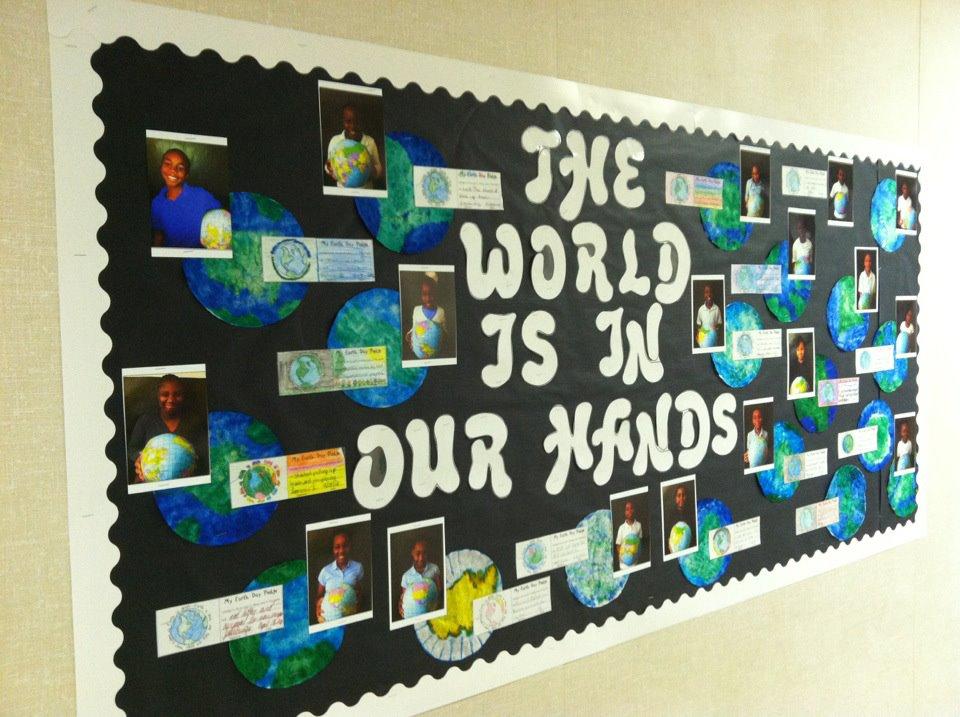 Best Bulletin Board Ideas Earth Day Bulletin Board
