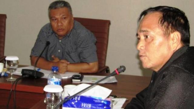 Eddyson Masengi bersama Amir Liputo