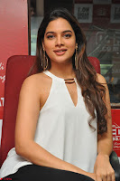 Tanya Hope in a whtie shirt and leggings at Song launch of Movie Patel Sir ~  Exclusive Celebrities Galleries 048.JPG