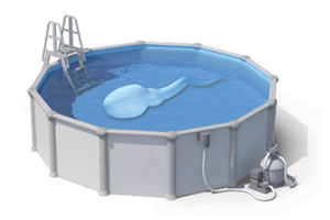 Bull semen in a swimming pool showing sperm need to be able to swim for effective cattle artificial insemination