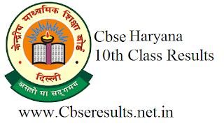 cbse haryana 10th Results
