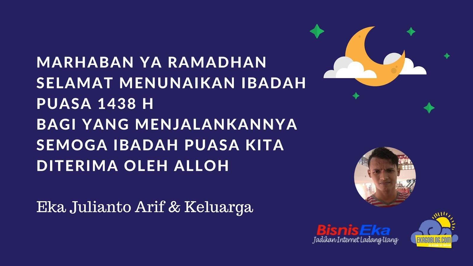 Marhaban Ya Ramadhan 1438 H