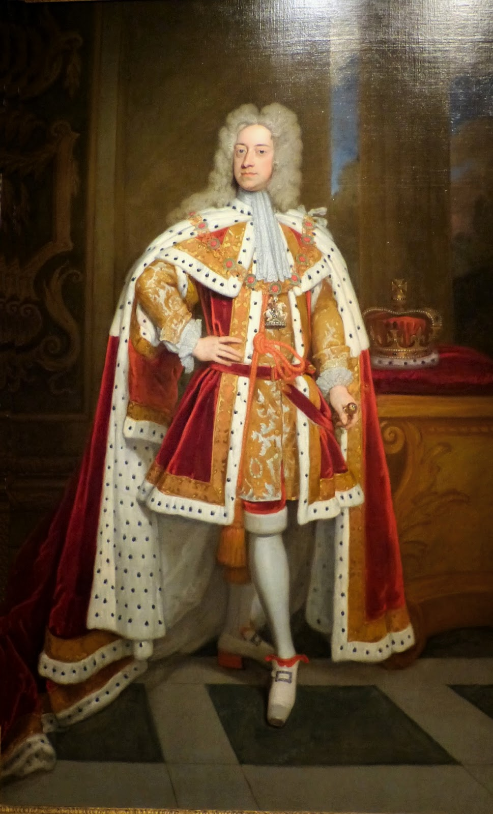 George II by Sir Godfrey Kneller 1716