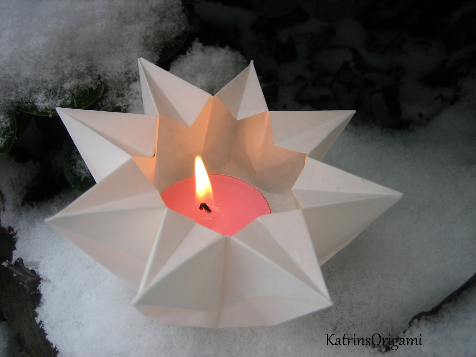 Origami Die Kunst Des Papierfaltens: Dezember 2012
