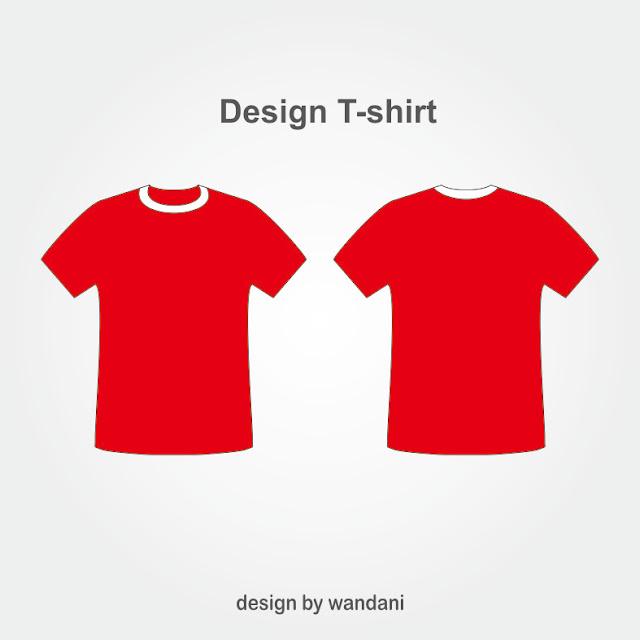 Kaos, Desain Kaos, t-shirt Design, Red, Kaos Polos, Template Baju,