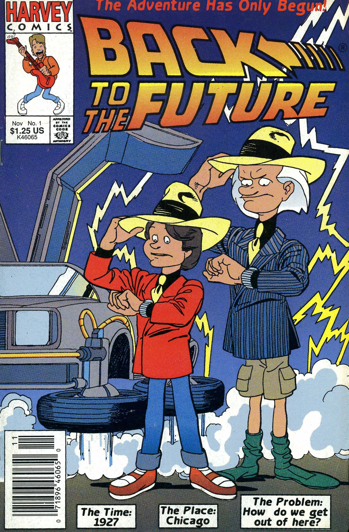 Back to the Future (1991) 1 Page 1
