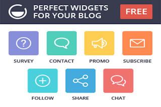 create amazing widgets for blogger