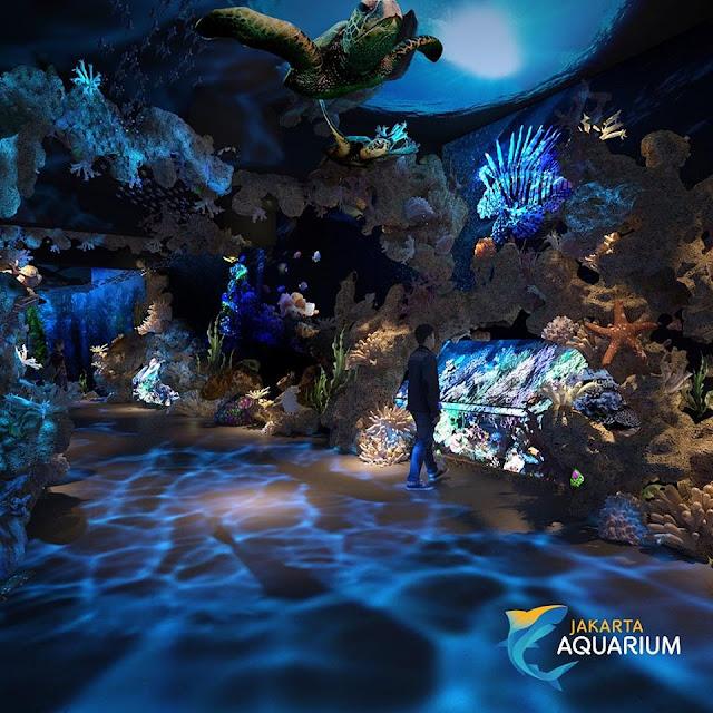 Jakarta Aquarium, Destinasi Satwa di Area Mall