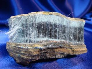 Crocidolita - Los diez minerales mas peligrosos del mundo